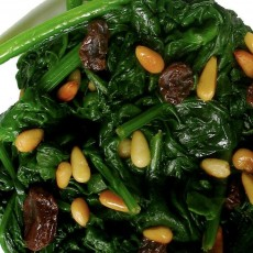 spinach-nuts
