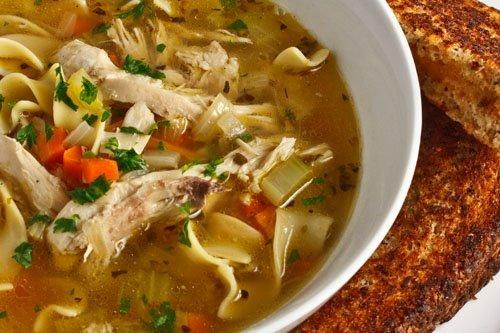 for soup noodle chicken and Cooking Soup  with  Kosher Gourmet Spinach Chicken Noodles