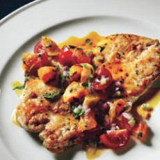 salmon-clementine