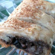 Mushroom-Strudel
