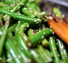 greenbeans-sesamesauce