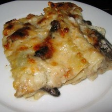 mushroom-lasagna
