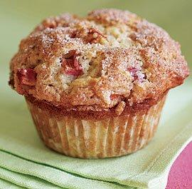 rhubarb-muffins