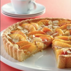 peach-custard-tart