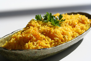 saffron-rice