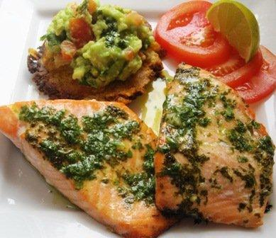 salmon-salsa-cilantro
