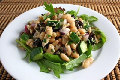 tuna-whitebean-salad