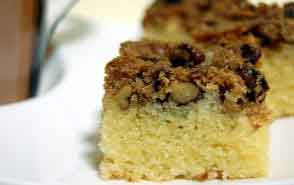 Pecan Pear Coffee Cake