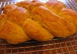 Pumpkin challah