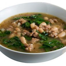 whitebean-spinach