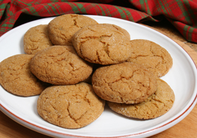 ... ginger in cookies. This is a heartier cookie than your typical Ginger