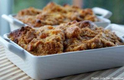 Kosher Recipe: Maple Bread Pudding