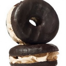 Jewish Holiday Recipe - Doughnut Ice Cream Sandwich