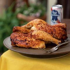 Kosher Beer Roasted Chicken Recipe