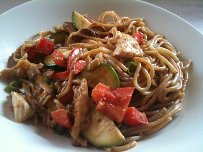 Kosher Recipe peanut noodles
