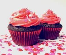 kosher recipes : red licorice cupcake