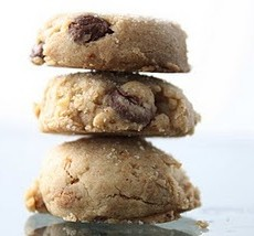 Kosher Dark Chocolate and Peanut Butter cookies