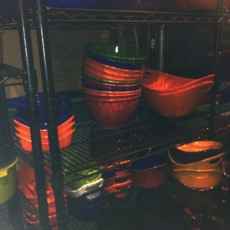 Rows and rows of fabulous Rachael Ray cookware