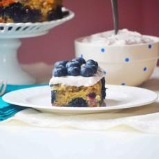 blueberry-cake