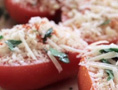 Roasted Tomatoes with Bread Crumbs and Parmesan