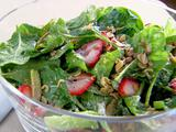 spinach-romain-salad