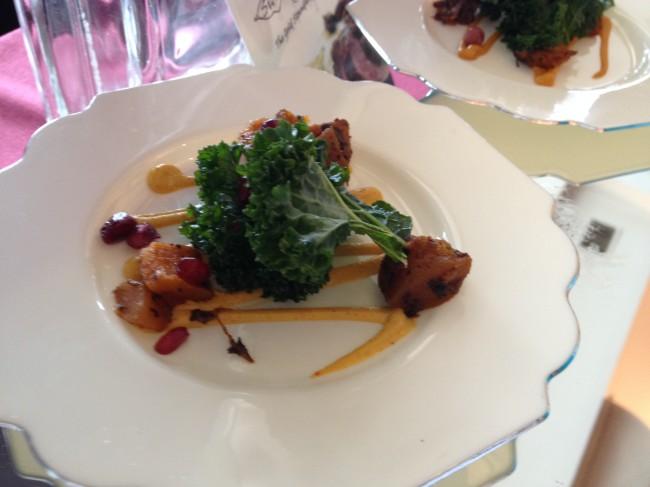 Silver leaf caterers kale salad