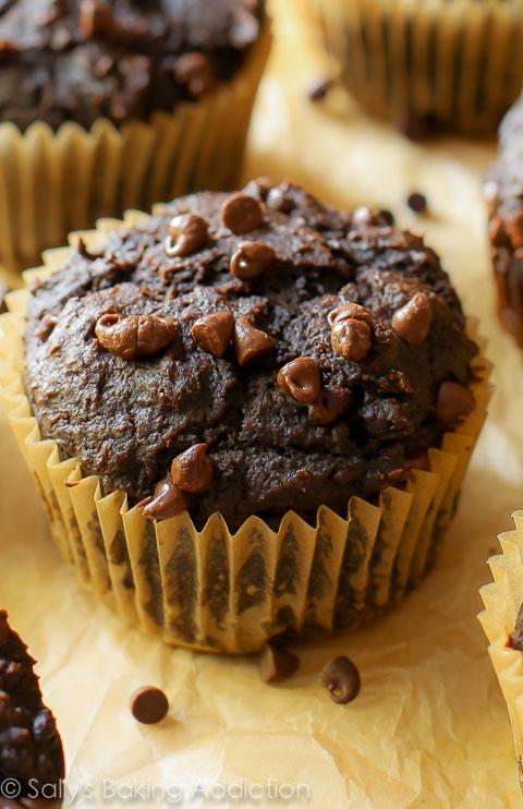 Chocolate-Pumpkin-Muffins