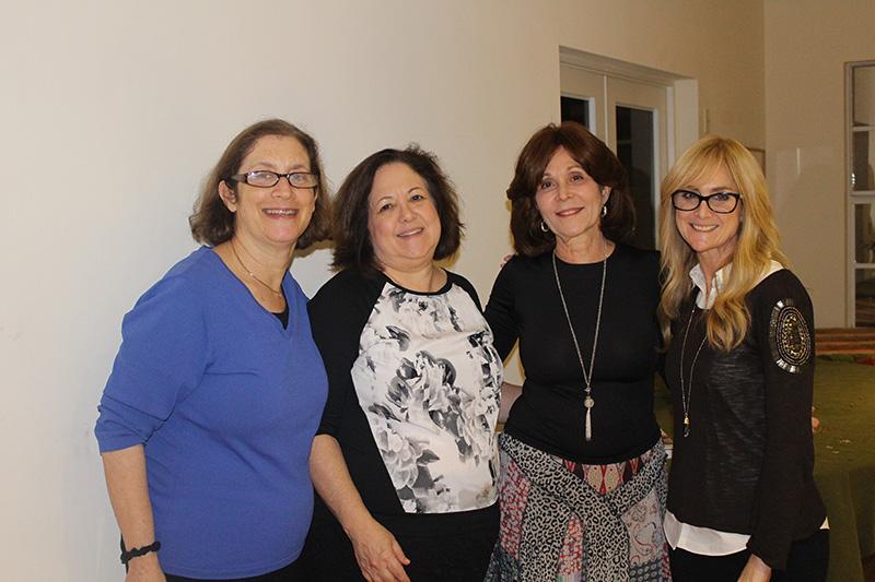 Rena Turoff, Terry Lefkowitz, Elaine Grover and Elizabeth Kurtz
