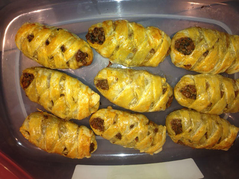 Mini Persian Spiced Meat Rolls by Suzanne