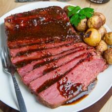 glazed-corned-beef