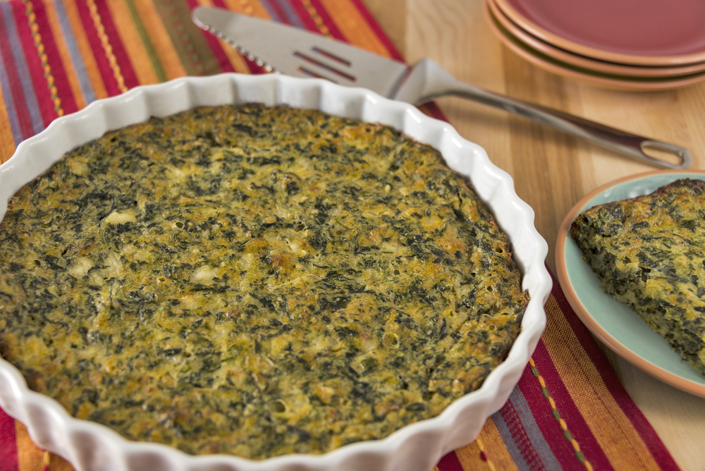 Spinach Kugel